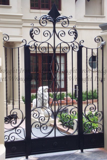 Wrought Iron Gates Budget Wrought Iron